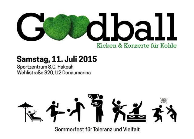 Flyer Goodball Sommerfest 2015