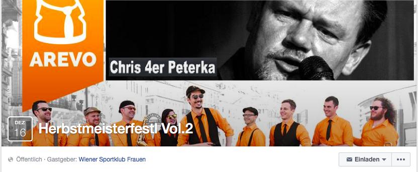 16.12.2016: Herbstmeisterfestl Vol.2 - mit Announced Revolution und Chris 4er Peterka